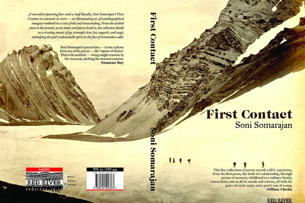 First-Contact-Now-Buy-Online-Soni-Somarajan's-poetry